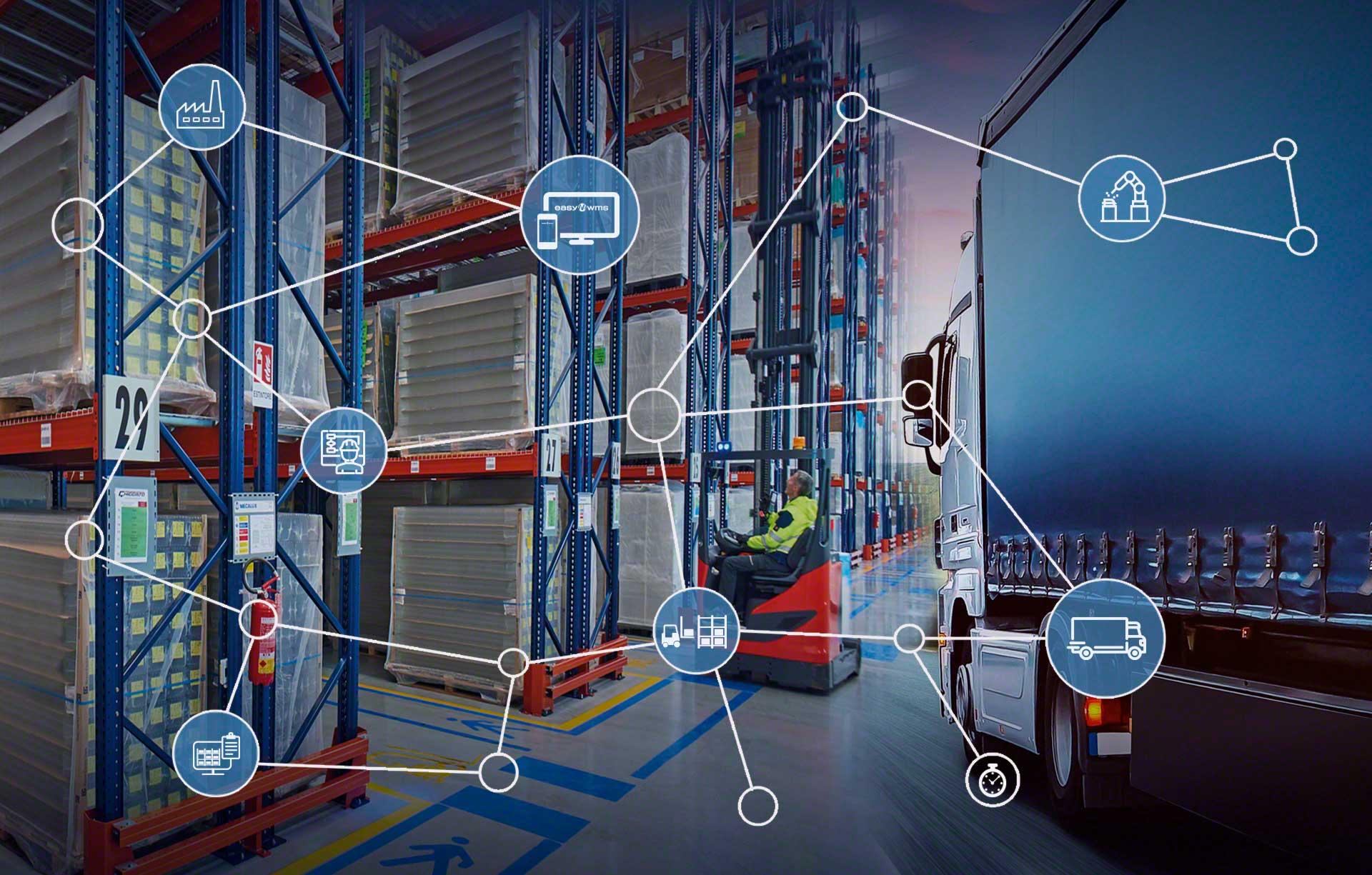 La logística integral coordina de manera conjunta todos los elementos que intervienen en la cadena de suministro