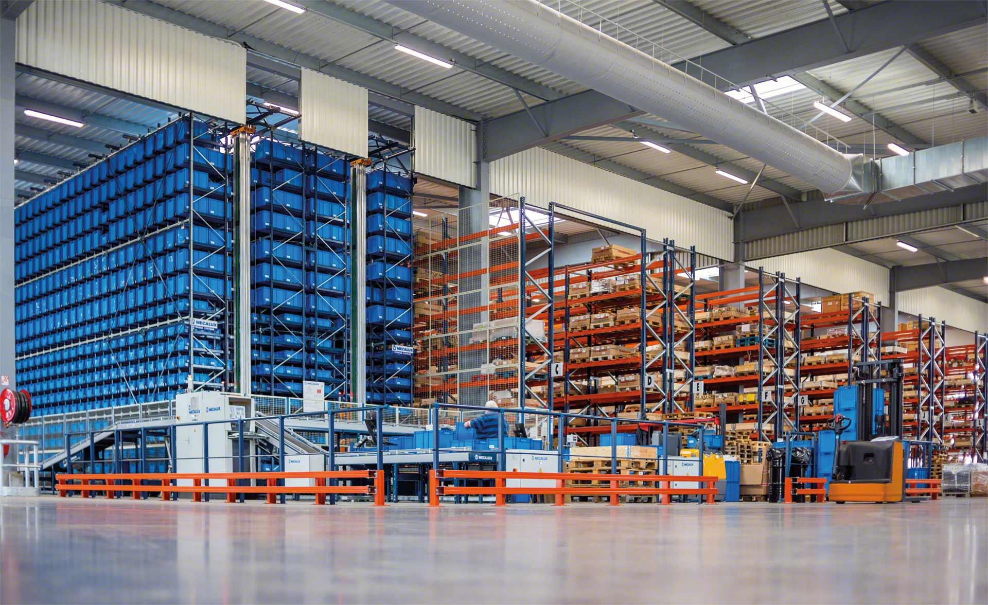 Los racks son el sistema de almacenamiento más eficaz para gestionar la mercadería