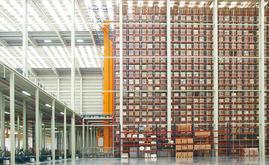 El nuevo depósito mide 7.000 m2 y tiene capacidad para más de 65.000 pallets