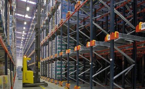 Mecalux finaliza el proyecto de almacenamiento de un nuevo centro logístico de 20.000 m² en Portugal