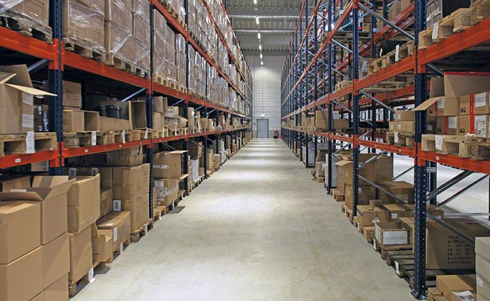 El acceso directo proporciona mucha rapidez a la gestión de la mercadería y a la preparación de pedidos