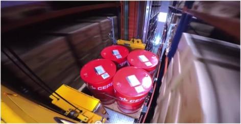 Mecalux ha construido un depósito automático autoportante con más de 4.500 m2 para Cepsa