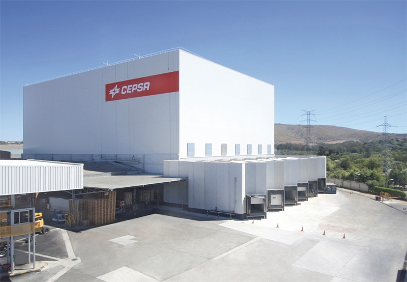 Cepsa's automated clad-rack warehouse