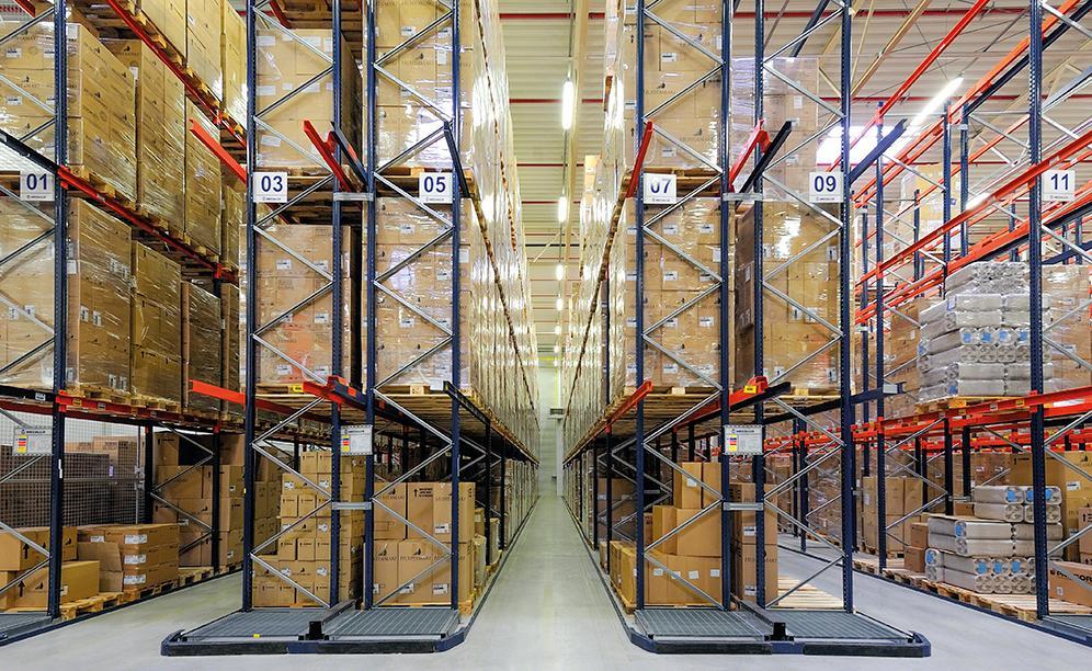 El depósito de Huhtamaki tiene capacidad para almacenar 8.600 pallets