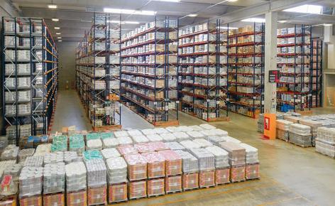 El nuevo centro de distribución de Cromology tiene 22.000 m2 y capacidad de almacenaje para 35.000 pallets