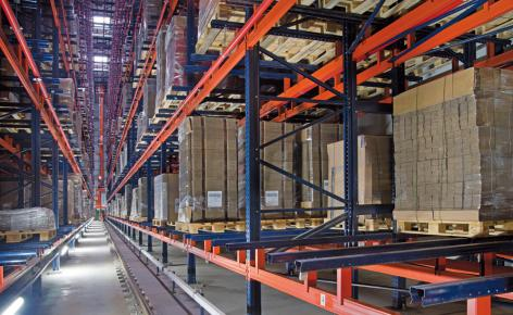 Nuevo depósito automático y autoportante para WOK con transelevadores diseñados a medida