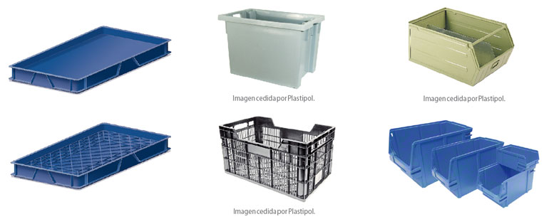Hay multitud de tipos de cajas según las necesidades del producto y del tipo de almacenaje.