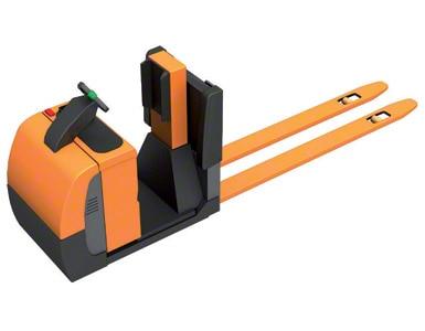 Preparadora de pedidos nivel suelo con plataforma