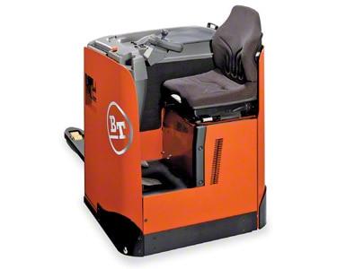 transpaleta eléctrica con asiento