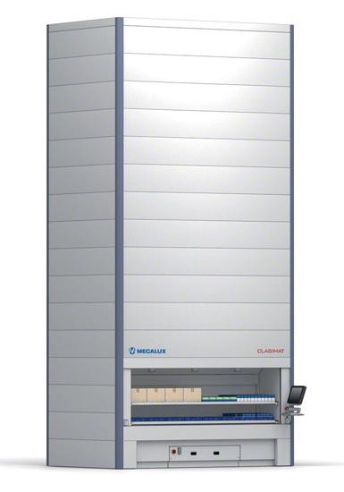Sistema de almacenaje vertical automático