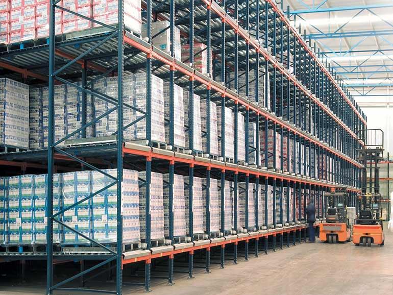 Depósito para corporación dedicada al sector alimentario.