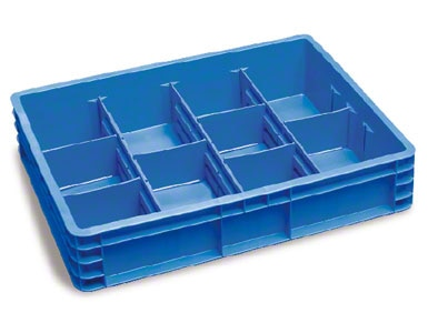 Las cajas anteriores pueden ser subdivididas para contener varias referencias sin que se mezclen.