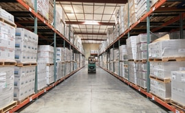 La nueva capacidad de almacenaje del depósito de Desert Depot es de más de 16.000 pallets, casi el doble de la capacidad original