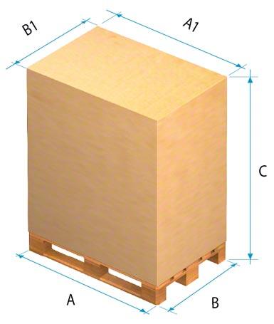 Para determinar las funciones del depósito deben tenerse en cuenta las dimensiones de la mercadería