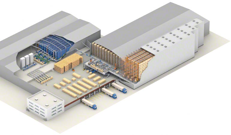 Diseño de un depósito central