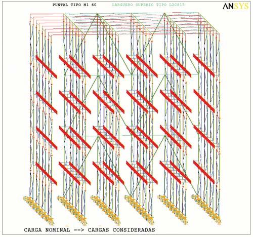 El pavimento de un depósito tiene que llegar a ser capaz de poder soportar de siete a ocho toneladas en tan sólo 80 o 100 cm2.