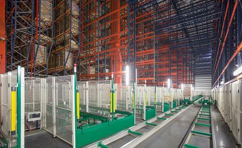 B. Braun ha adquirido un depósito automático autoportante con capacidad para 42.116 pallets construido por Mecalux