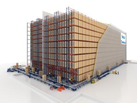 El depósito de Grupo Familia posee una capacidad para alojar 19.000 pallets