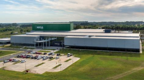 Mega Pharma se suma a la vanguardia tecnológica con un depósito autoportante completamente automático