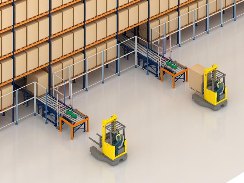 Cosmopak estrenará un depósito automático para pallets en Portugal