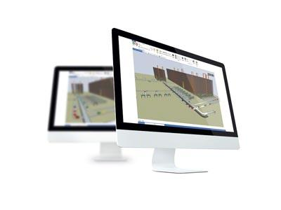 Actualización del software Easy S, que permite diseñar la instalación a pedido del cliente