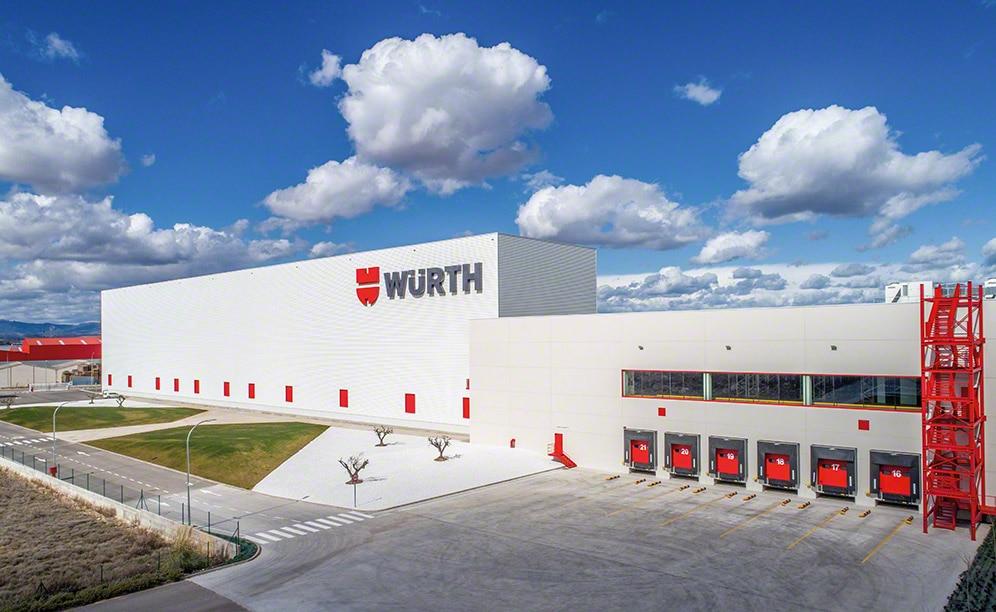 Un depósito automatizado para Würth en La Rioja