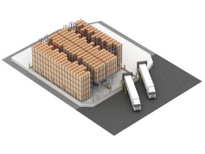 Pastelaria e Confeitaria Rolo instalará el sistema Pallet Shuttle automático