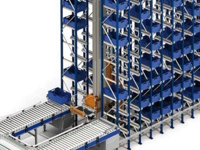Un nuevo depósito automático de cajas en el centro de distribución de Project