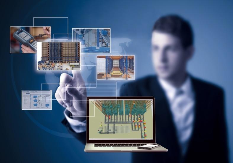 Simulación del depósito: soluciones de Mecalux