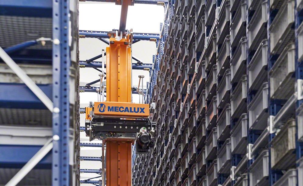 Paolo Astori duplica la capacidad de su depósito automático de cajas