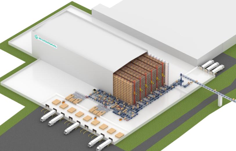 El depósito automático autoportante de Intersurgical en Lituania