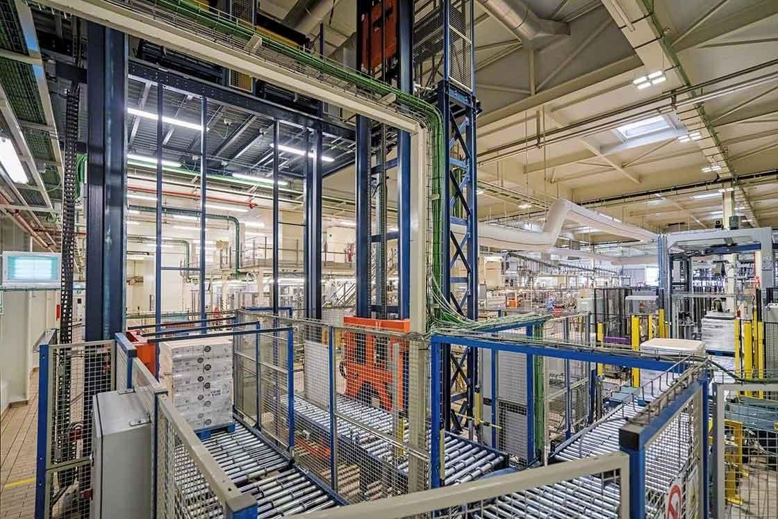 La automatización de procesos en el depósito reduce los tiempos de entrega