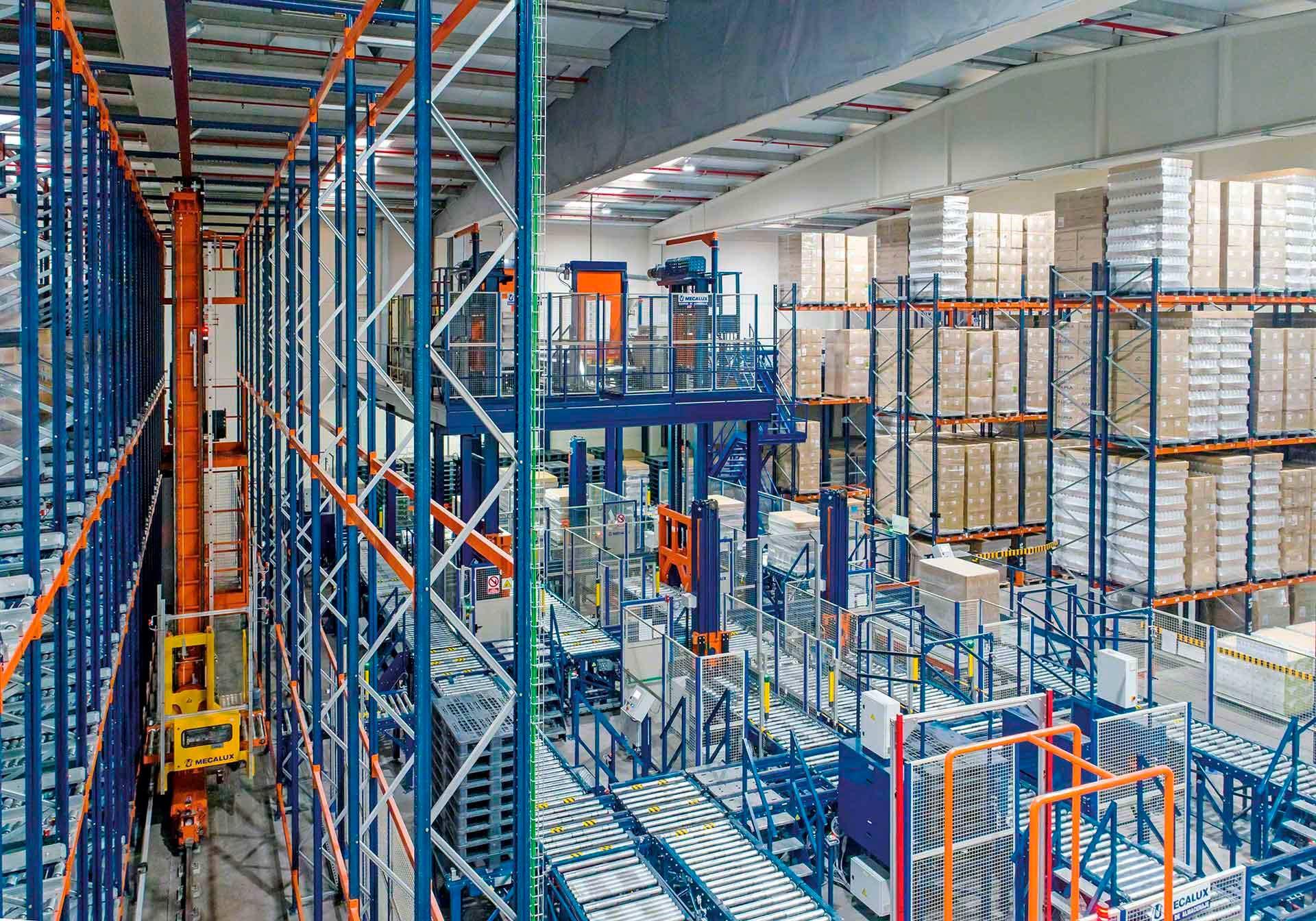 El depósito robotizado en la era de la logística 4.0