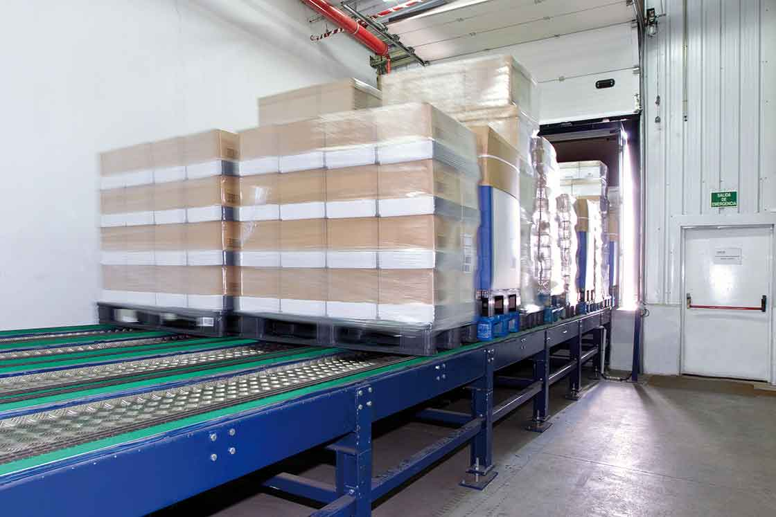 Las plataformas de carga automática permiten acelerar todo el proceso de expedición de mercaderías