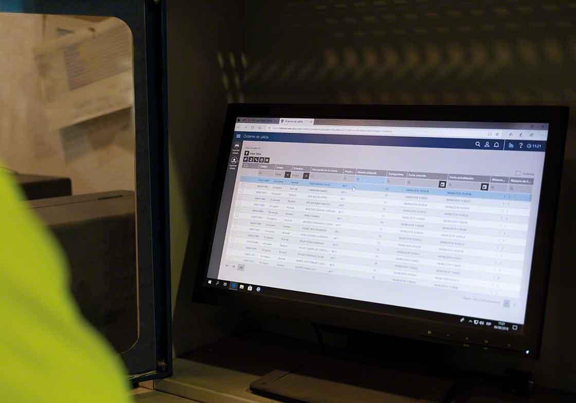 La instalación de nuevas versiones del sistema de gestión del depósito forman parte del mantenimiento de actualización