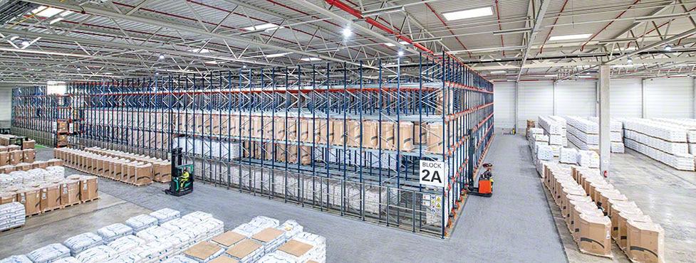 La empresa de servicios industriales WISAG estrena depósito en Alemania