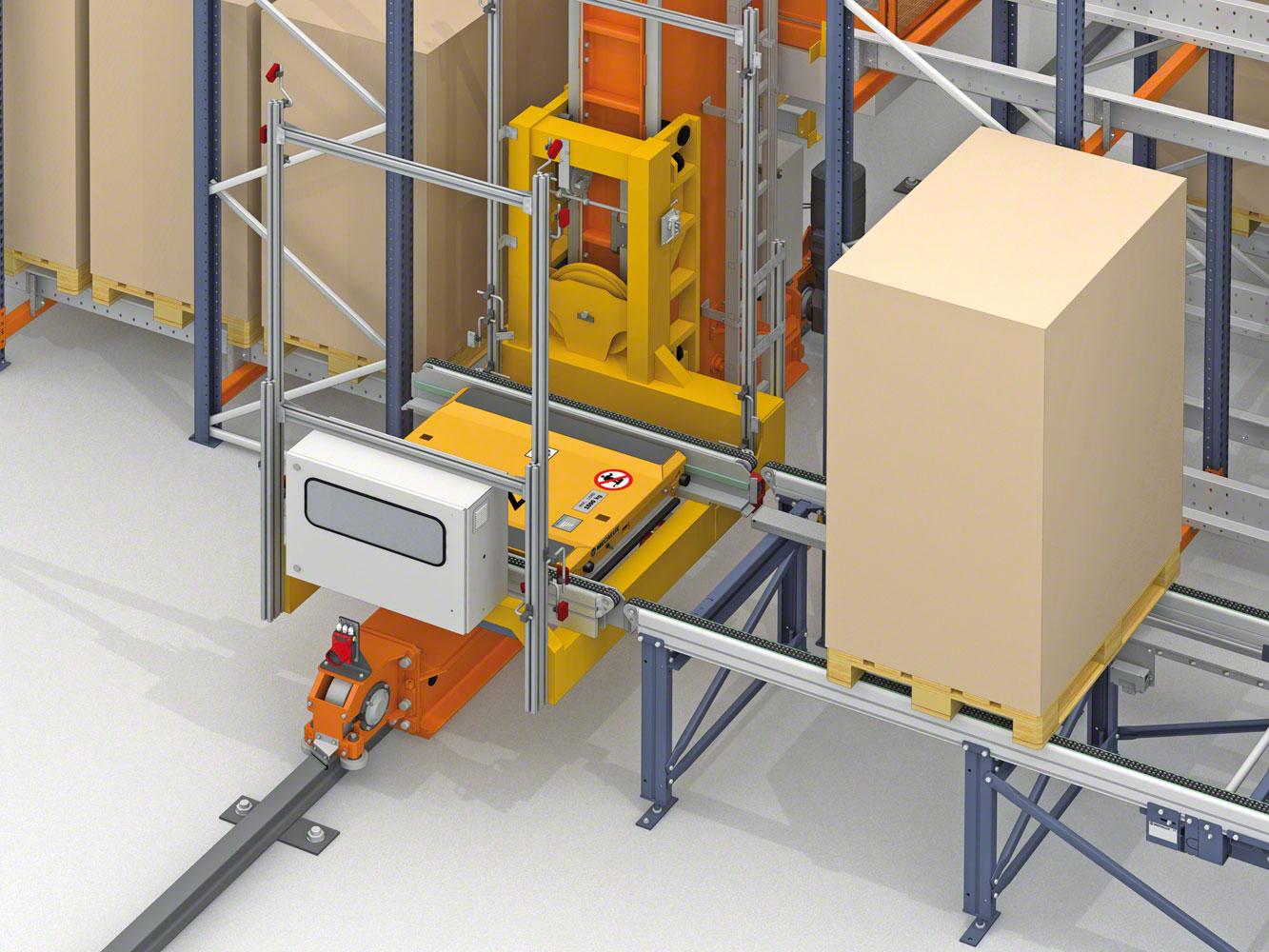 Mecalux equipará dos depósitos de Lanxess con Pallet Shuttle en Alemania