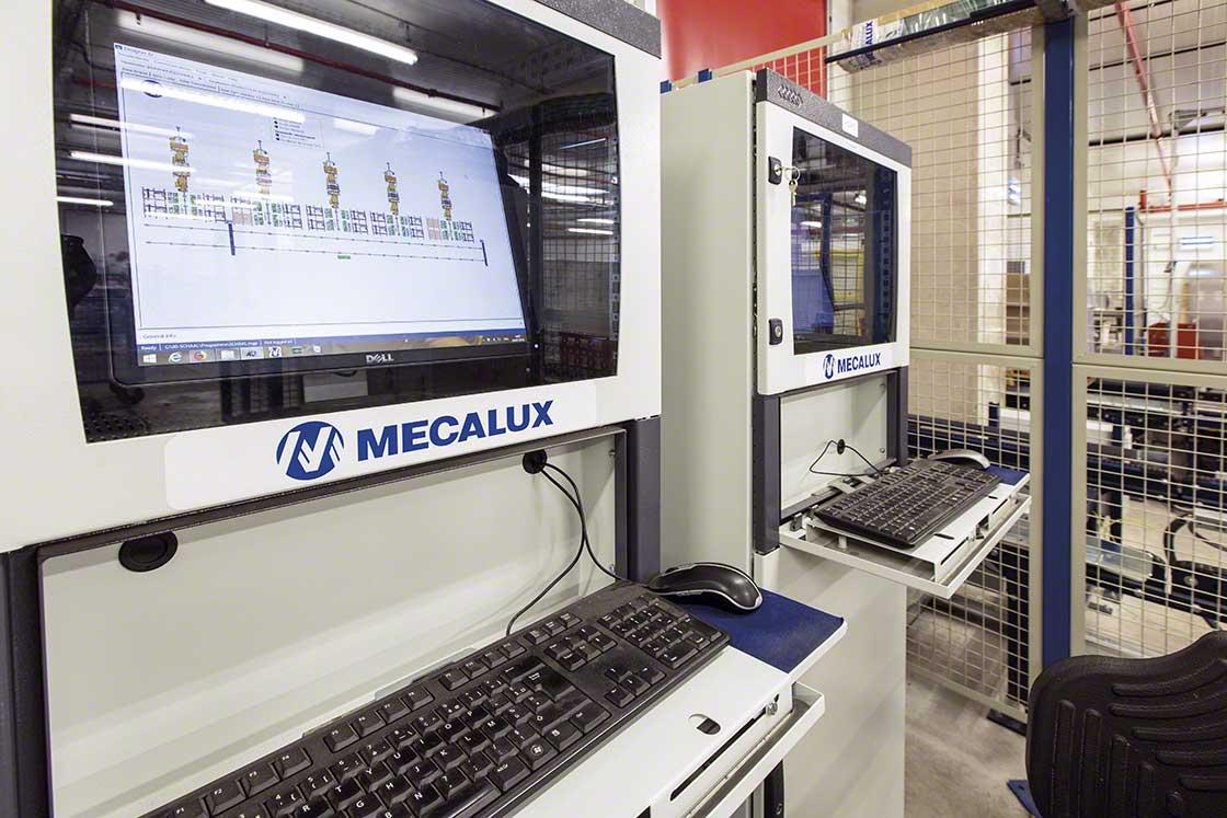 El SGA recopila datos sobre el funcionamiento del depósito para mejorar la calidad de los procesos