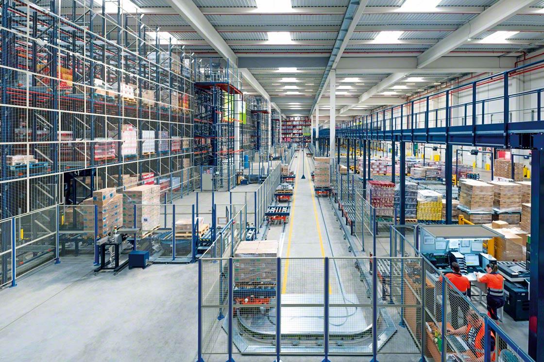 El operador logístico Luís Simões posee dos depósitos fiscales para empresas de bebidas equipados con estanterías de Mecalux